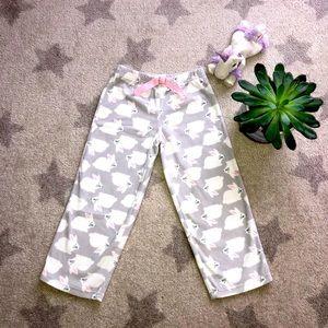 🐰Carter's fleece pajama pants🐰Size: 4